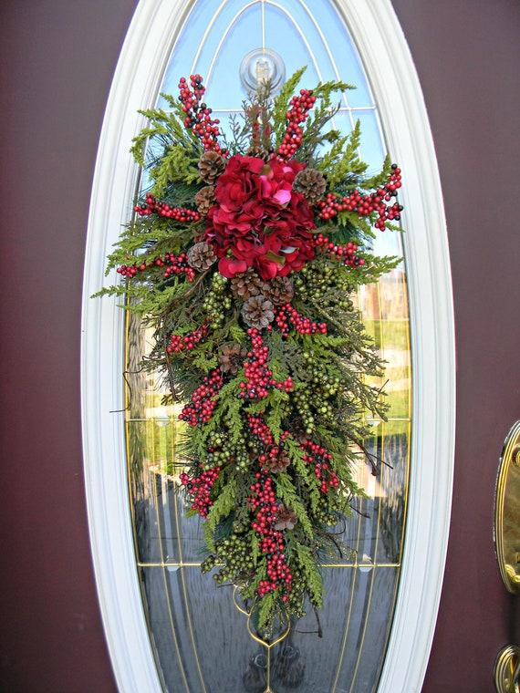 items similar to christmas wreath winter wreath holiday