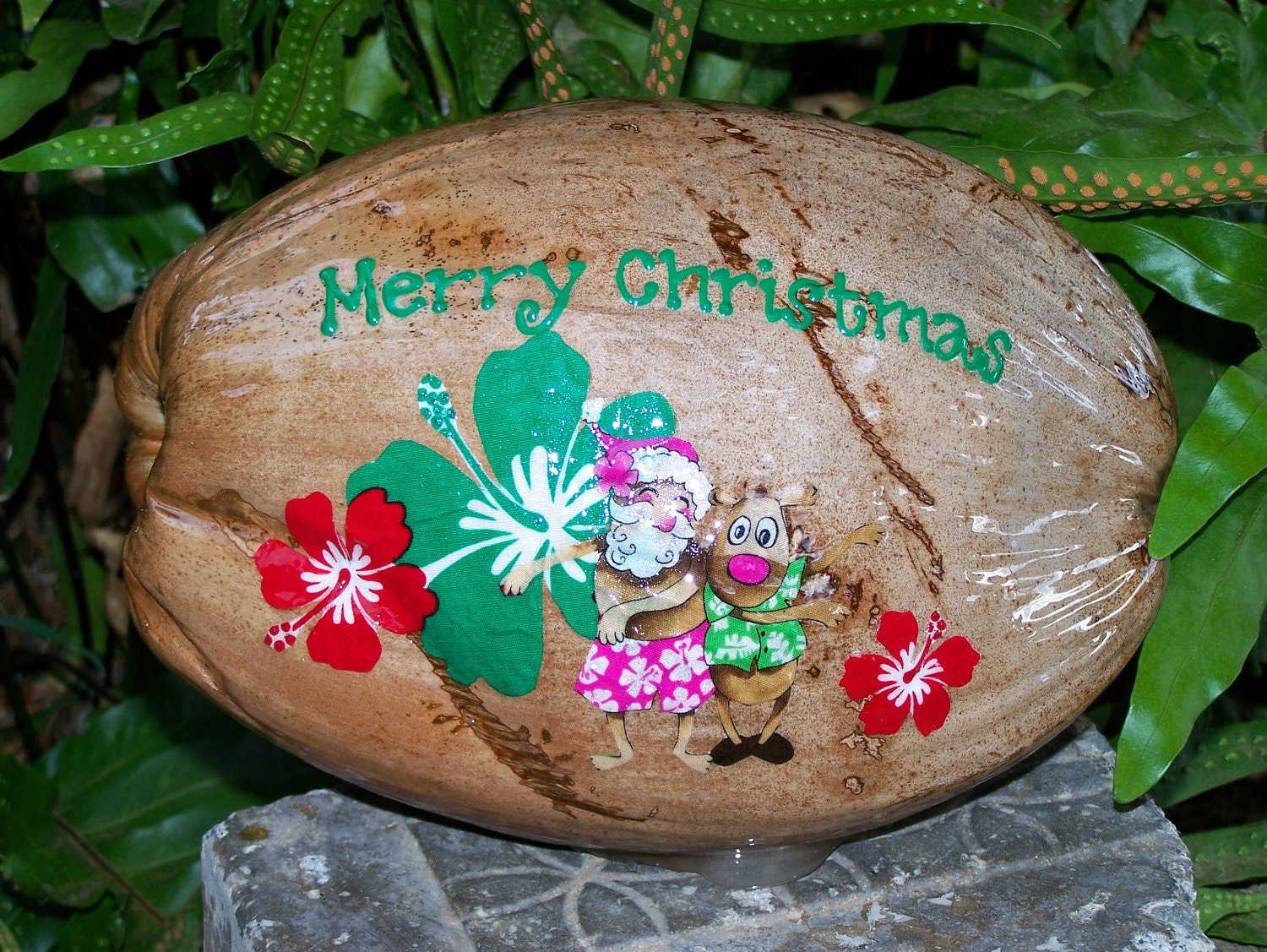 Christmas In Hawaii Decorations.Mele Kalikimaka 1950s Christmas Goes Tropical The