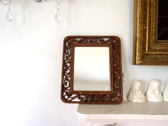 Wall Mirror Bohemian Vintage 1970s Mirror