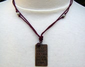 Worst Things in Life Necklace