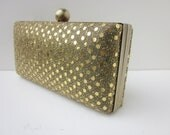 gold sequin clutch purse, Bridesmaid Clutch, minaudiere, cocktail purse, special occasion clutch
