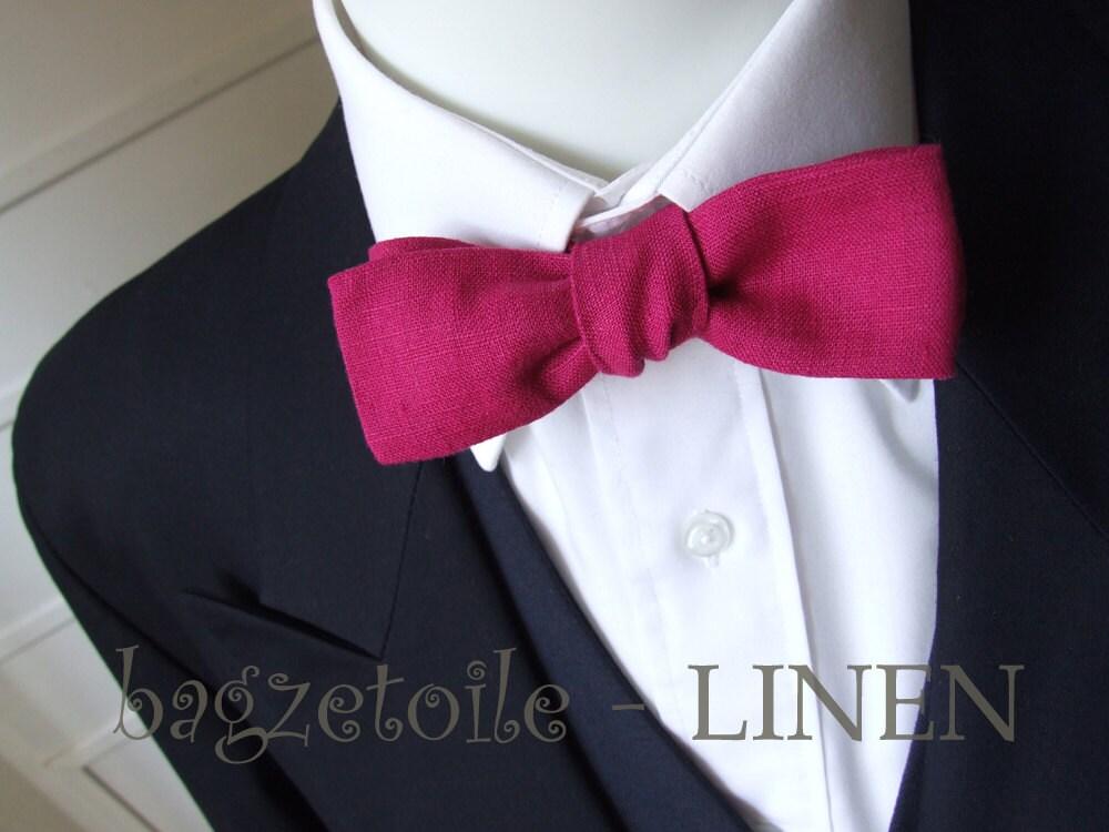 Magenta Bow Tie