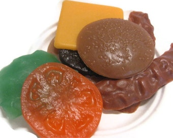 Deluxe Hamburger Soap