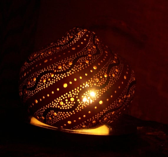 Gourd Art Electric Table Mood lighting lamp