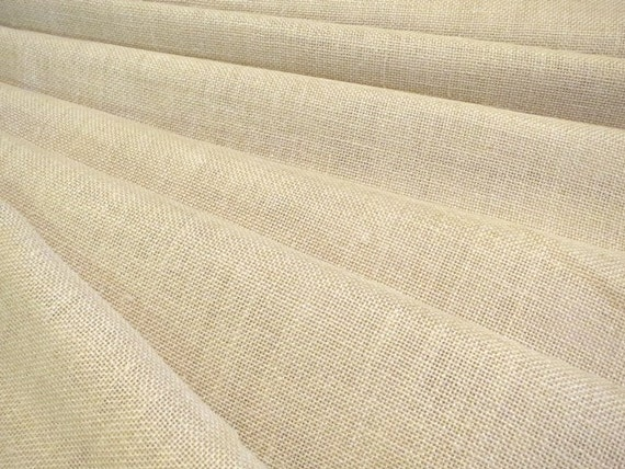 "One Yard Primitive Linen for Rug Hooking, 36"" x 60"", J545, Rug Hooking Backing Fabric, Foundation Fabric"