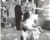 Puppy Love 1951, Original B&W Photograph