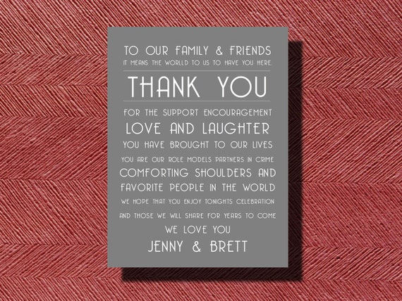 Thank You Letter For Wedding Guests: Wedding Day Thank You Wedding Day Thank You Note To Guests