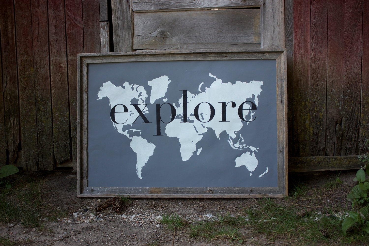 Giant vintage world map poster gumiabroncs Images