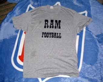 Ram Football vintage t shirt 1980s medium