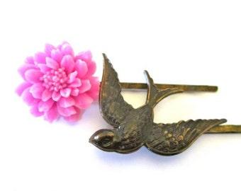 Bird Hairpins Hair Fashion Accessories Flower Clips Hairpieces