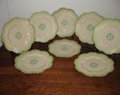 1920s Irish Belleek Tea Plates
