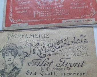 1 Vintage French Hair Net