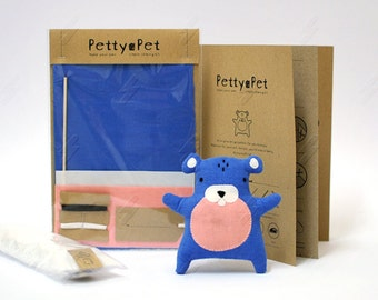 Make Your Own Petty-Pet Hamsty Sewing Kit