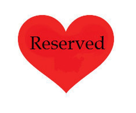 Reserved listing for theresa