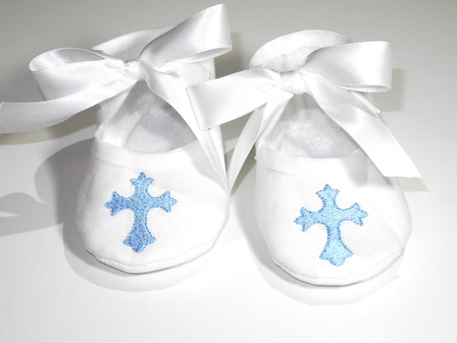 Baby Boy White Church Shoes