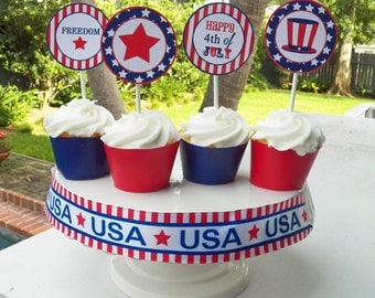 Popular items for stars and stripes on Etsy