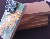 """Jewelry and mosaic tiny Blanks RESERVED Listing for D. West 1/4"""" MDF strong"""