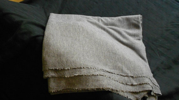 Grey cotton thermal 1 yard
