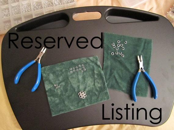 Reserved for Bri - Three Persian Star Bracelets