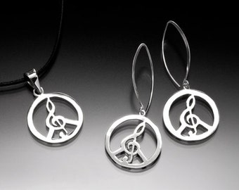 Musical Healing Earring and Pendant Set_040