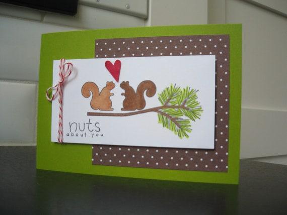 Squirrel Valentine Card