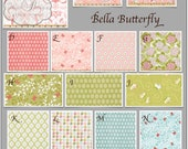 Baby Bedding- Design Your Own Crib Set- Bella Butterfly
