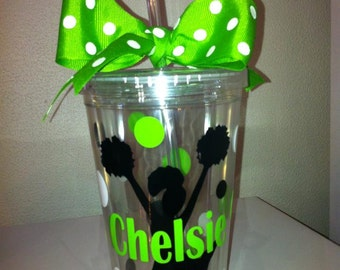 Personalized Cheer Squad Tumblers - Team Sports Gift - Best Cheer Gift - Coach Gift - Baseball Team Gift - Soccer Team Gifts