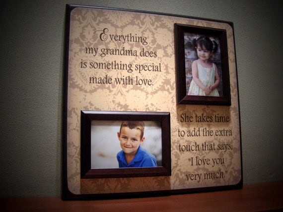 Lovely Cricut Picture Frame Ideas for Grandma Selection | Photo And ...