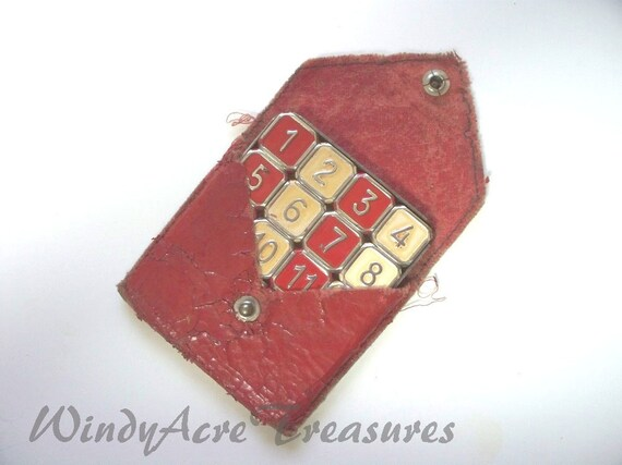 "Vintage Classic ""IMP"" 15 Number Sliding Puzzle Game is Hours of Fun Five Dollar Treasure at WindyAcreTreasures."