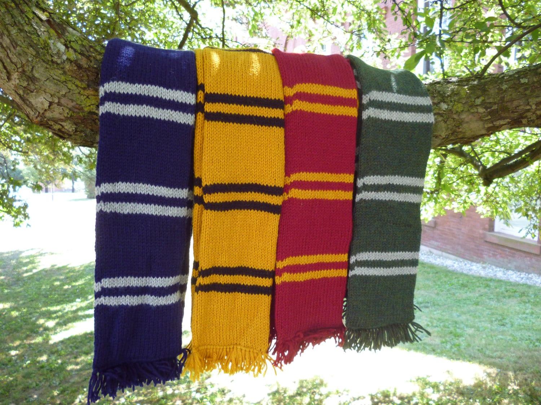 sale harry potter inspired house scarf gryffindor