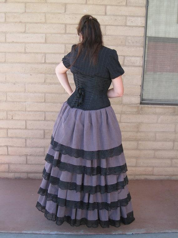 Steampunk Bustle Skirt Victorian Fantasy