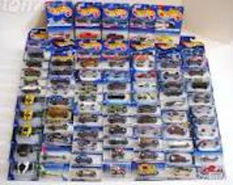 Hot wheels collector  only 1995-2001 vintage un open