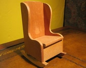 Rocking Chair, by Shackman, doll furniture