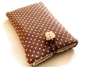 iPhone / iPod touch case padded sleeve pouch from fabric