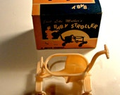 Vintage Tiny Doll Stroller with Original Box