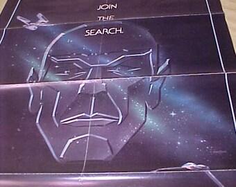 Star Trek III  Film The Search for Spock 840047 VG Original movie One Sheet vintage 1 sh 1sh Rare