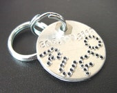 ID tag for dogs and cats - Circle shaped pet tags - nice look