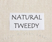Half Yard Tweedy Fabric in Natural, P&B Textiles, 100% Cotton Fabric
