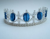 Denim Blue Tiara