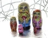 Zombie Nesting Dolls