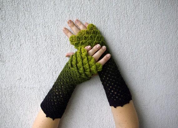 Black fingerless gloves Mens fingerless gloves Driving gloves