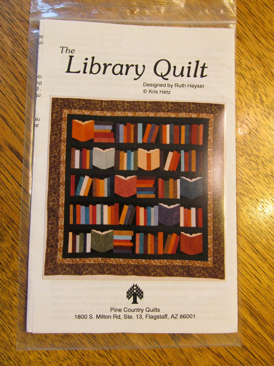 LIBRARY Quilt for Book Lovers Unique Patchwork Project by