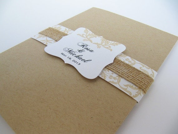 Wedding Invitations With Pockets Folders was good invitation layout