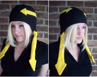 Medusa Soul Eater Hat - Any Color - Fleece Hat Adult - A winter, nerdy, geekery gift!