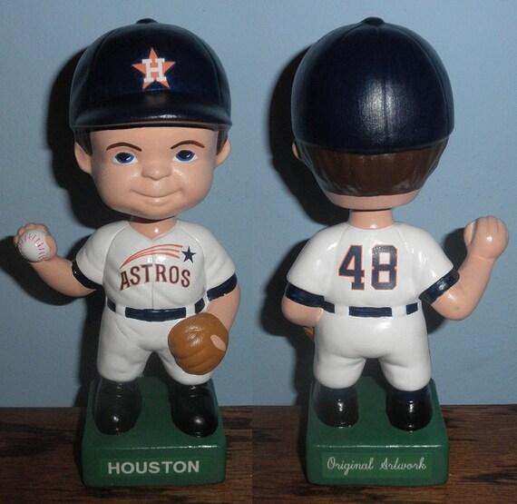 Rare Vintage 1960s-70 Houston Astros Bobblehead