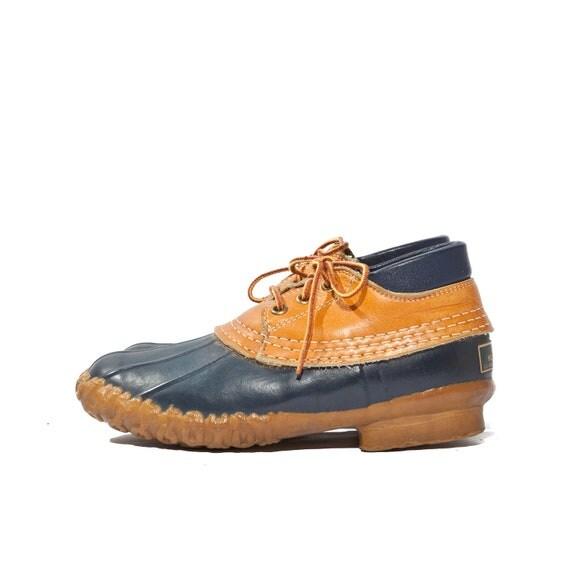 Women's L.L. Bean Maine Hunting Shoe Duck Boots size 5
