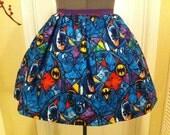 Licensed Batman fabric full skirt - Made to order