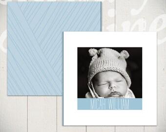 Baby Album Template: Little Bird - Newborn Book Template for Photographers 10x10