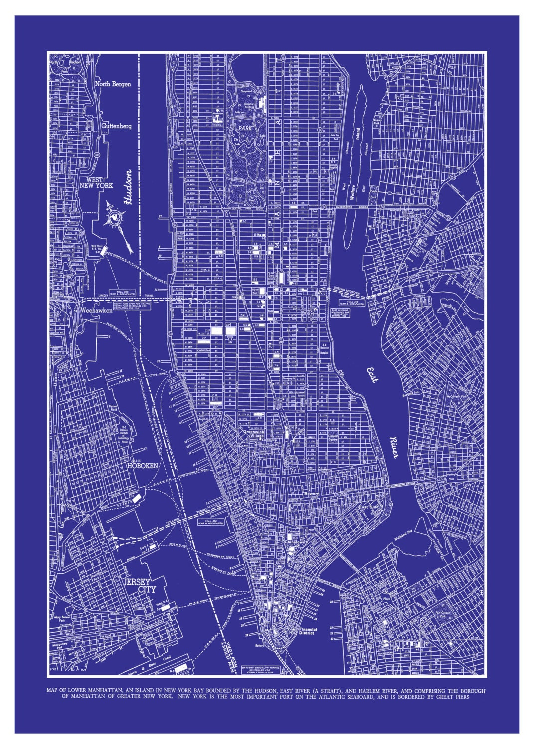 Image Result For New York City Map To Print