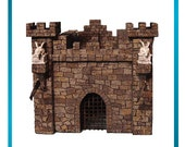 Styrofoam/Polystyrene/EPS Foam Medieval Castle Pattern & DVD